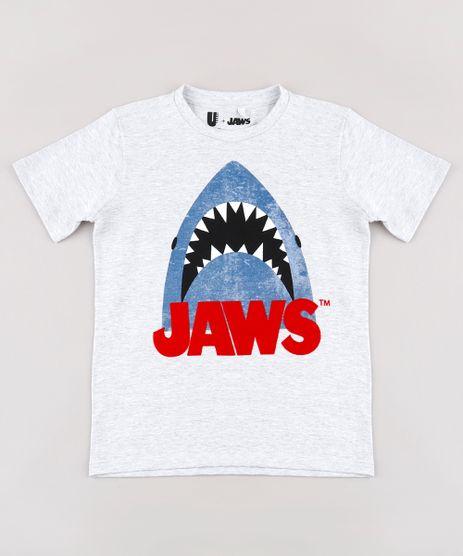 Camiseta-Infantil-Tubarao-Manga-Curta-Decote-Redondo-Cinza-Mescla-Claro-9818718-Cinza_Mescla_Claro_1