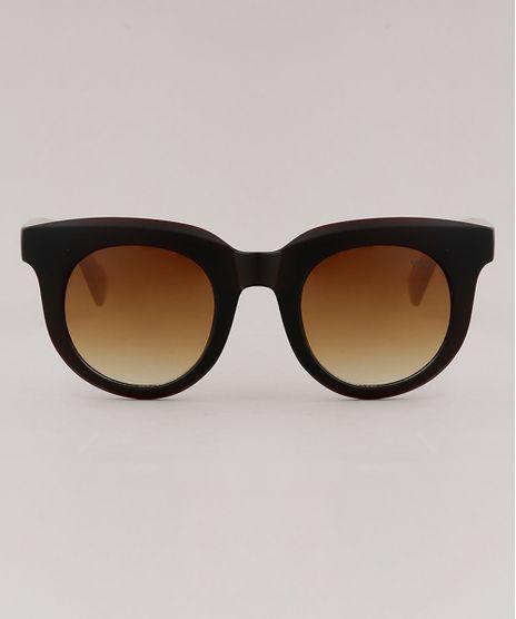 Oculos-de-Sol-Redondo-Feminino-Yessica-Marrom-9867634-Marrom_1