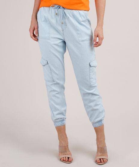 Calca-Jeans-Feminina-Jogger-Cargo-Azul-Claro-9818443-Azul_Claro_1