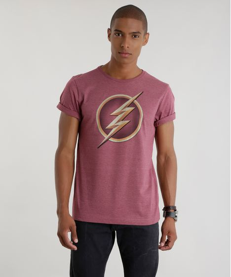 806451d1f0 Camiseta-Flash-Vinho-8560388-Vinho 1 ...