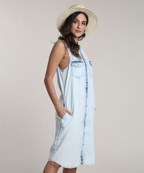 Vestido-Jeans-Feminino-Salinas-Midi-com-Bolsos-Sem-Manga-Azul-Claro-9809263-Azul_Claro_1