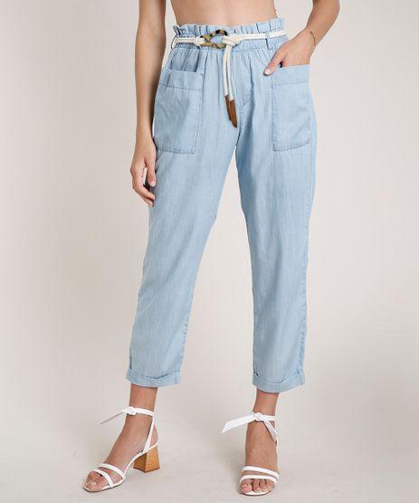 Calca-Jeans-Feminina-Agua-de-Coco-Clochard-com-Cinto-Azul-Claro-9809269-Azul_Claro_1