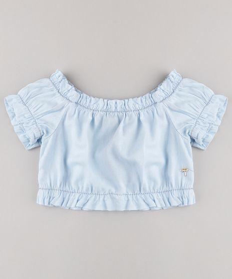 Blusa-Jeans-Infantil-Agua-de-Coco-Tal-Mae-Tal-Filha-Cropped-Ombro-a-Ombro-Manga-Curta-Azul-Claro-9799477-Azul_Claro_1