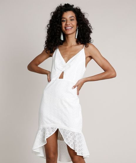 Vestido-Feminino-em-Laise-Curto-Mullet-com-Babado-Alca-Fina-Off-White-9637387-Off_White_1