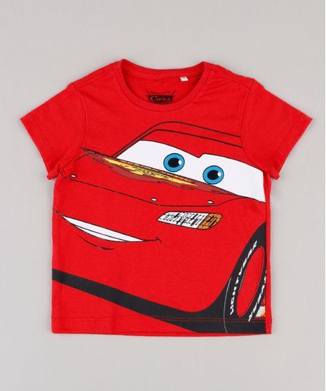 Camiseta-Infantil-Relampago-McQueen-Carros-Manga-Curta-Vermelha-9848348-Vermelho_1
