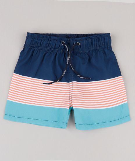 Bermuda-Surf-Infantil-com-Listras-e-Bolso-Azul-Marinho-9667570-Azul_Marinho_1