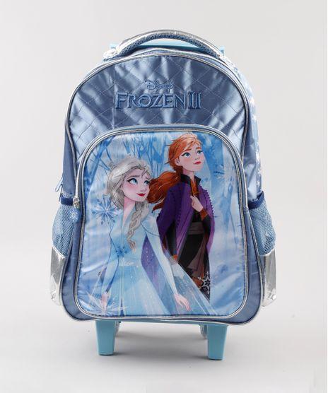 Mochila-Escolar-Infantil-com-Rodinhas-Frozen-Azul-9593055-Azul_1