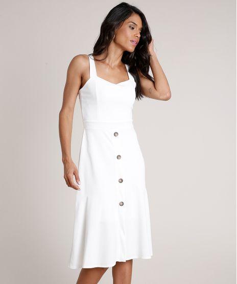 Vestido-Feminino-Midi-com-Recorte-e-Botoes-Alca-Media-Off-White-9763355-Off_White_1