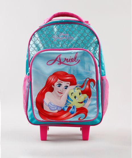 Mochila-Escolar-Infantil-com-Rodinhas-Ariel-Verde-Agua-9593029-Verde_Agua_1