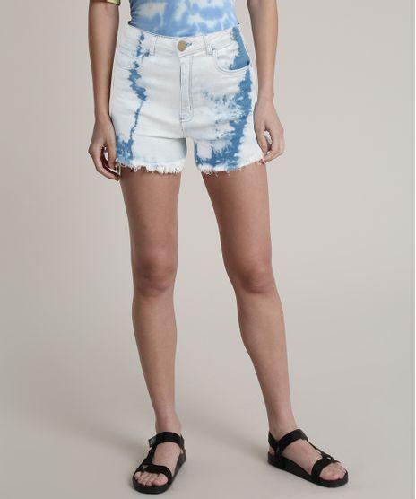 Short-Jeans-Feminino-Blueman-Cintura-Super-Alta-Estampado-Tie-Dye-Azul-Claro-9810526-Azul_Claro_1