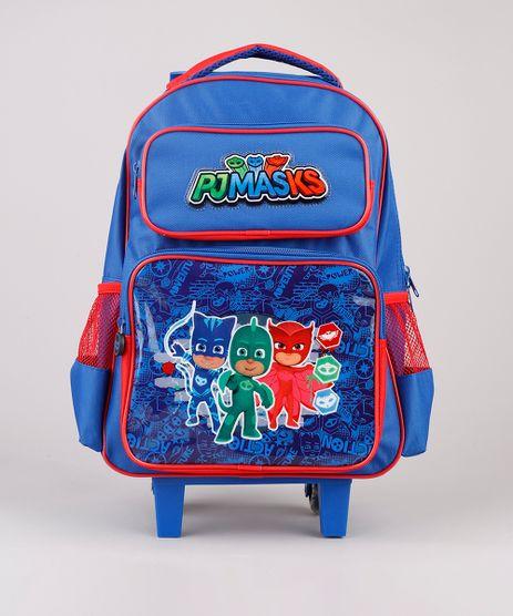 Mochila-Escolar-Infantil-com-Rodinhas-PJ-Masks-Azul-9594109-Azul_1