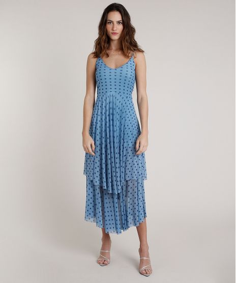 Vestido-Feminino-Mindset-Longo-Estampado-de-Poa-em-Camadas-Alca-Fina-Azul-Claro-9857236-Azul_Claro_1