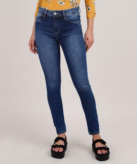 Calca-Jeans-Feminina-Sawary-Cigarrete-Push-up-Cintura-Alta-Azul-Escuro-9855744-Azul_Escuro_1