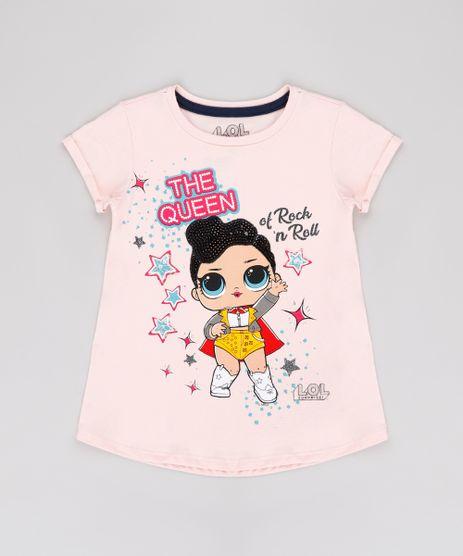 Blusa-Infantil-LOL-Suprise-com-Brilho-Manga-Curta-Rosa-Claro-9812246-Rosa_Claro_1