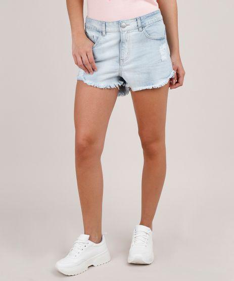 Short-Jeans-Feminino-Boyshort-Destroyed-Azul-Claro-9741947-Azul_Claro_1