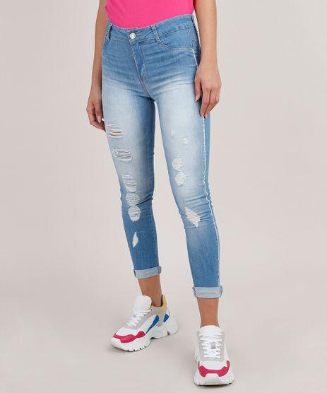 Calca-Jeans-Feminina-Sawary-Cropped-Push-Up-Destroyed-Cintura-Alta--Azul-Claro-9807355-Azul_Claro_1