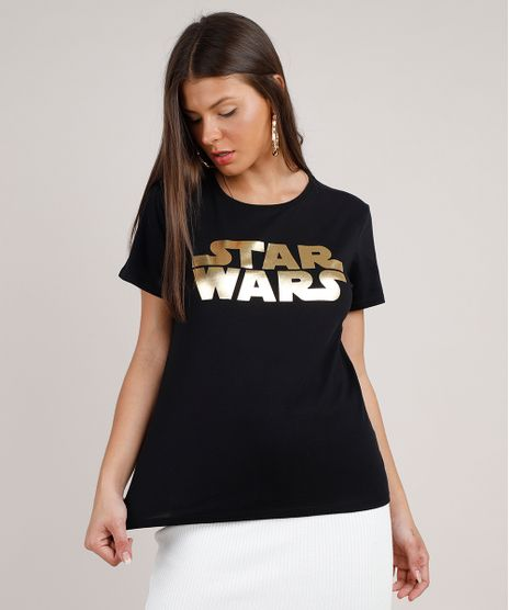 Blusa-Feminina-Star-Wars-Metalizada-Manga-Curta-Decote-Redondo-Preta-9788578-Preto_1