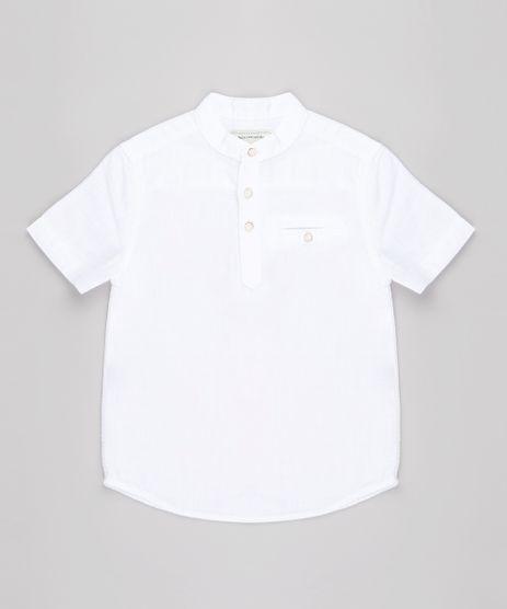 Camisa-Infantil-com-Bolso-Manga-Curta-Gola-Portuguesa-Off-White-9671174-Off_White_1