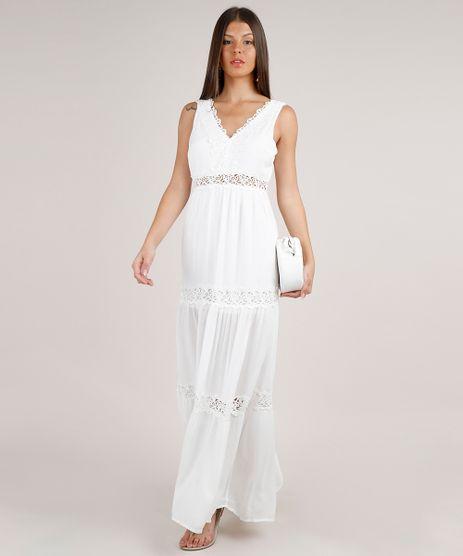 Vestido-Feminino-Longo-com-Renda-Alca-Larga-Off-White-9677567-Off_White_1