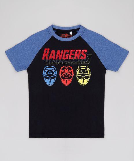 Camiseta-Infantil-Power-Rangers-Raglan-Manga-Curta-Preta-9818723-Preto_1