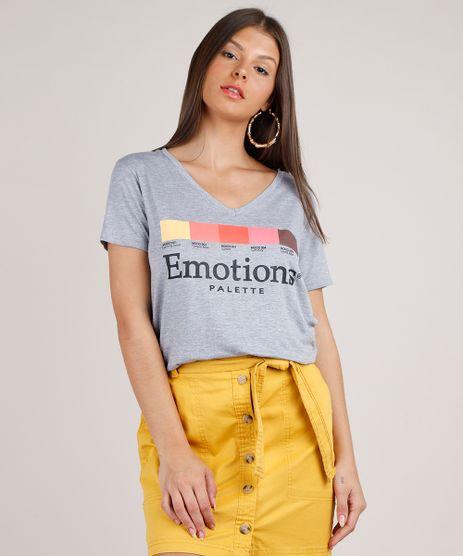 Blusa-Feminina--Emotions-Palette--Manga-Curta-Decote-Redondo-Cinza-Mescla-9568446-Cinza_Mescla_1