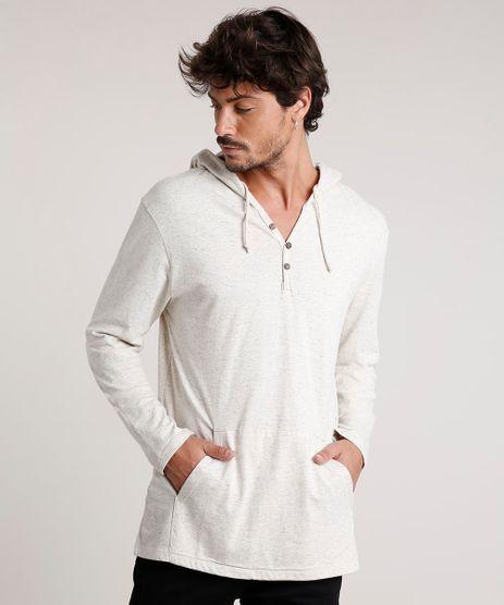 Camiseta-Masculina-com-Capuz-e-Bolso-Manga-Longa-Bege-Claro-9742102-Bege_Claro_1