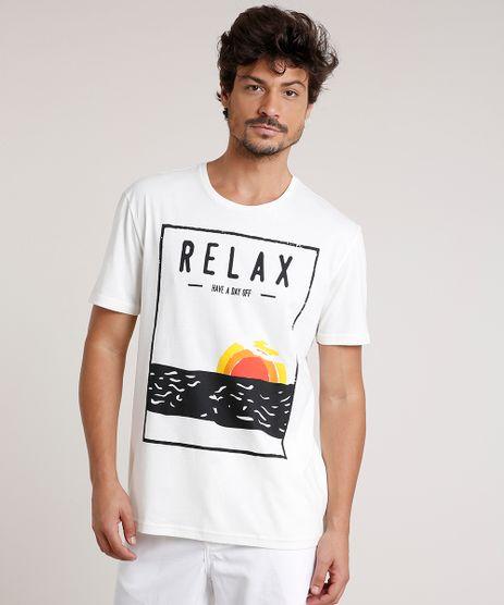 Camiseta-Masculina--Relax--Manga-Curta-Gola-Careca-Off-White-9716008-Off_White_1