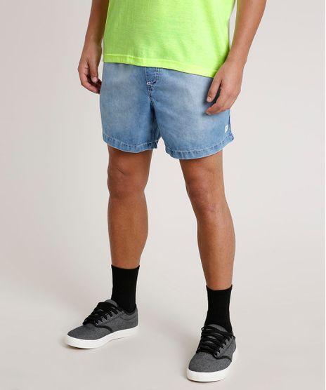 Short-Jeans-Masculino-com-Bolsos-Azul-Meido-9775895-Azul_Meido_1