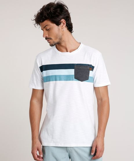 Camiseta-Masculina-com-Listras-e-Bolso-Manga-Curta-Gola-Careca-Off-White-9766769-Off_White_1