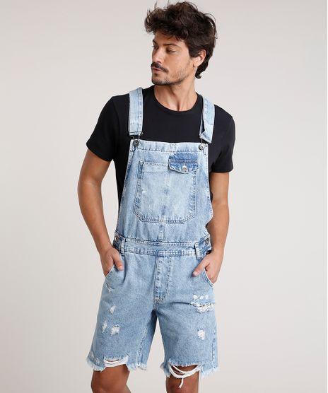 Macacao-Curto-Jeans-Masculino-Destroyed-Azul-Claro-9769370-Azul_Claro_1