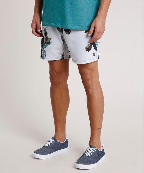 Short-Masculino-Estampado-de-Tucanos-com-Bolsos-Cinza-Claro-9734065-Cinza_Claro_1