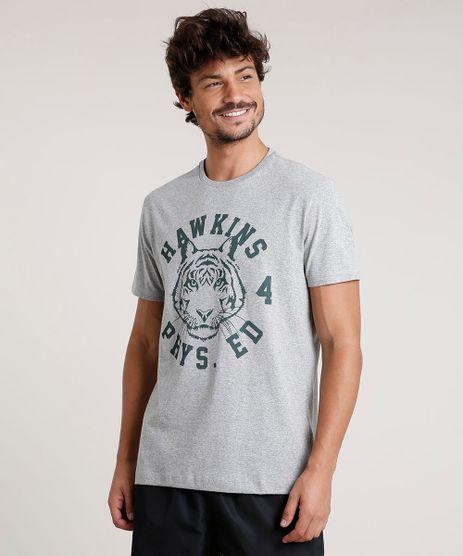 Camiseta-Masculina-Stranger-Things-Hawkins-Manga-Curta-Gola-Careca-Cinza-Mescla-9771295-Cinza_Mescla_1
