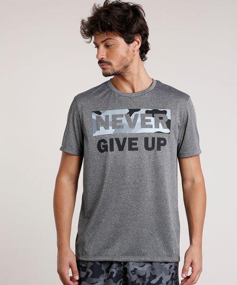Camiseta-Masculina-Esportiva-Ace--Never-Give-Up--Manga-Curta-Gola-Careca-Cinza-Mescla-Escuro-9723563-Cinza_Mescla_Escuro_1