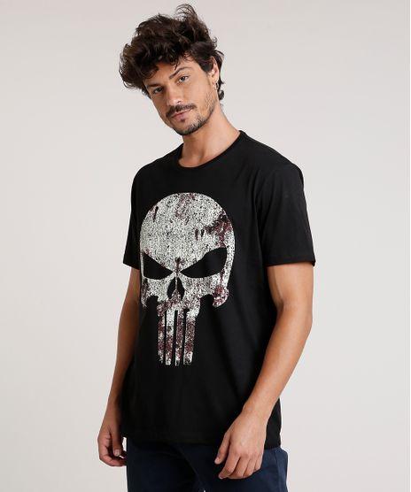 Camiseta-Masculina-O-Justiceiro-Manga-Curta-Gola-Careca-Preta-9727004-Preto_1