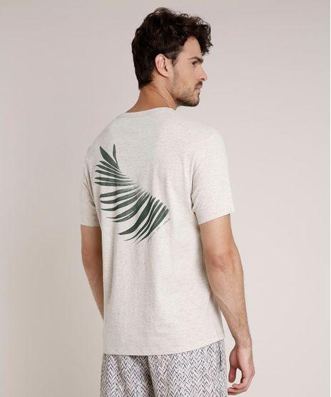 Camiseta-Masculino-Agua-de-Coco-com-Bolso-Folhagem-Manga-Curta-Gola-Careca-Bege-Claro-9735389-Bege_Claro_1