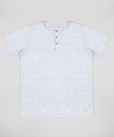 Camiseta-Infantil-Basica-com-Bolso-Manga-Curta-Gola-Portuguesa-Cinza-Mescla-Claro-9760011-Cinza_Mescla_Claro_1