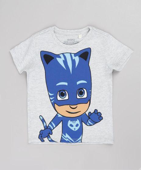 Camiseta-Infantil-Menino-Gato-PJ-Masks-Manga-Curta-Cinza-Mescla-Claro-9848350-Cinza_Mescla_Claro_1