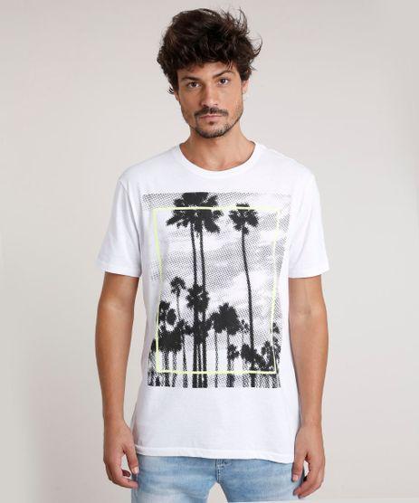 Camiseta-Masculina-Coqueiros-Manga-Curta-Gola-Careca-Branca-9760038-Branco_1