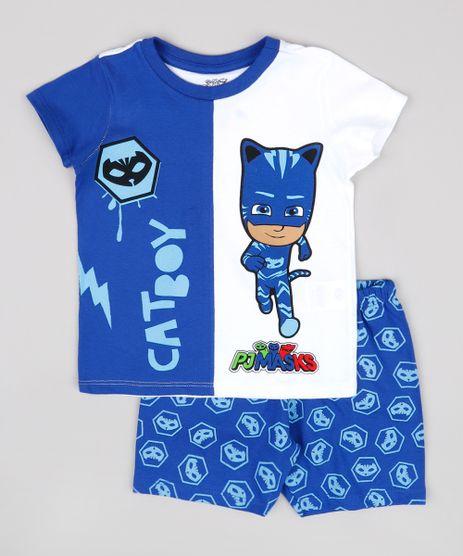 Pijama-Infantil-PJ-Masks-Menino-Gato-Manga-Curta-Azul-Royal-9844867-Azul_Royal_1