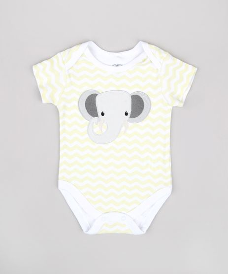 Body-Infantil-Elefante-Estampado-Chevron-Manga-Curta-Branco-9679737-Branco_1