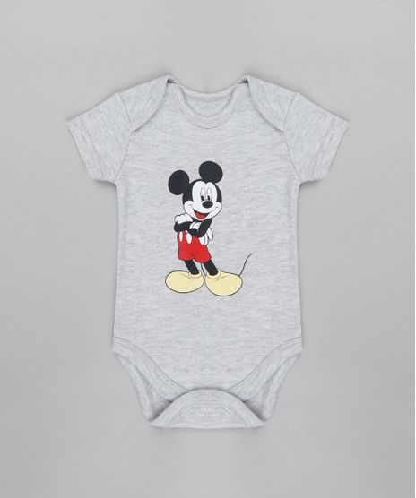 Body-Infantil-Mickey-Manga-Curta-Cinza-Mescla-9685270-Cinza_Mescla_1