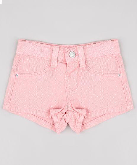 Short-de-Sarja-Infantil-Estampado-de-Poa-Rosa-9727894-Rosa_1