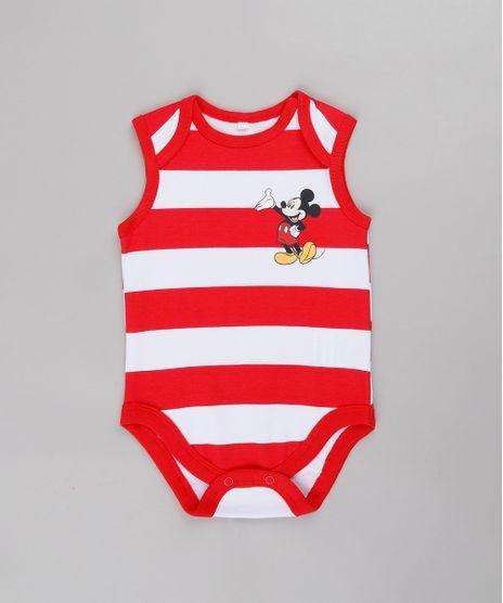 Body-Regata-Infantil-Mickey-Listrado--Vermelho-9685271-Vermelho_1