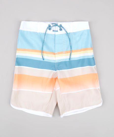 Bermuda-Surf-Infantil-Estampada-Listrada-Laranja-9667434-Laranja_1
