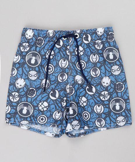 Bermuda-Surf-Infantil-Os-Vingadores-Estampada--Azul-9757036-Azul_1