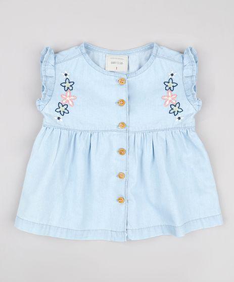 Regata-Jeans-Infantil-com-Bordado-e-Botoes-Azul-Claro-9736015-Azul_Claro_1