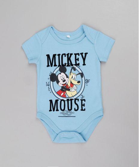 Body-Infantil-Mickey-e-Pluto-Manga-Curta-Azul-9685282-Azul_1