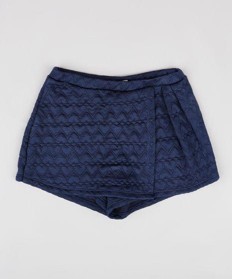 Short-Saia-Infantil-com-Textura-de-Coracao-Azul-Marinho-9787564-Azul_Marinho_1