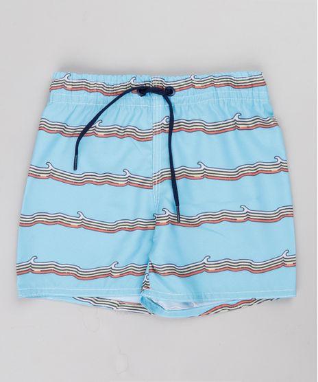Bermuda-Surf-Infantil-Estampada-de-Ondas-Azul-Claro-9757031-Azul_Claro_1