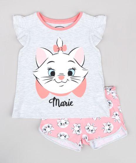 Pijama-Infantil-Marie-Babado-na-Manga-Cinza-Mescla-Claro-9762299-Cinza_Mescla_Claro_1